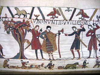 Dane axe - A Dane axe on the Bayeux Tapestry