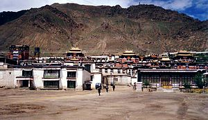 Helena Blavatsky - Tashilhunpo Monastery, Shigatse, the place that Blavatsky claimed held the Senzar texts she translated