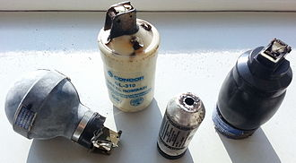 CS gas - Tear gas shells used in Istanbul in 2013