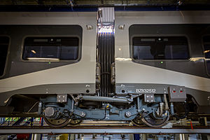 Jacobs bogie - Image: Technicentre TER Alsace Mulhouse Nord 28 mai 2015 09