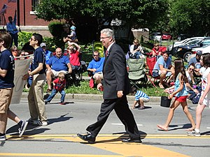 Ted O'Brien - Image: Ted O Brien Independence Day Parade 2014