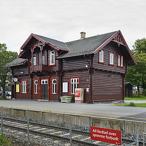 Norwegian Telecom Museum - Norwegian Telecom Museum administration at Kjelsås in Oslo