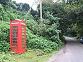Telephone box near Hembridge - geograph.org.uk - 395689.jpg