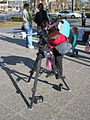 Telescope set up by the Wagga Wagga Observatory at the Civic Centre for the transit of Venus (3).jpg