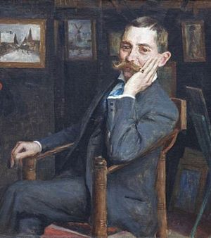 Siebe Johannes ten Cate - Self-portrait (c.1900)