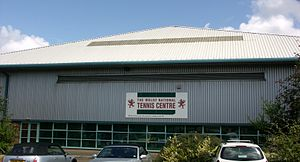 Tennis Wales - Welsh National Tennis Centre, East Moors, Cardiff Tennis Wales' base