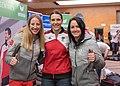 Teresa Stadlober Katrin Ofner Jacqueline Seifriedsberger - Team Austria Winter Olympics 2018.jpg