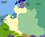Territorial changes of Poland 1657
