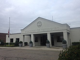 Teterboro, New Jersey - Teterboro Municipal Building in September, 2018