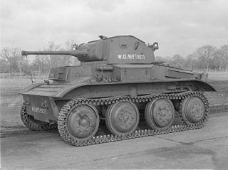 Light Tank Mk VII Tetrarch 1938 light tank