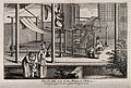 Textiles; silk manufacture in China, two women working at a Wellcome V0024224.jpg