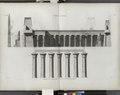 Thèbes. Louqsor (Luxor). Première et seconde parties de la coupe logitudinale du palais (NYPL b14212718-1268030).tiff