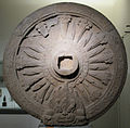 Thailandia, ruota della legge (dharmacakra), prov. ignota, arte dvaravati, viii-ix sec.JPG