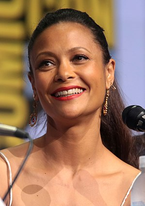 Thandie Newton - Newton at San Diego Comic Con in 2017.