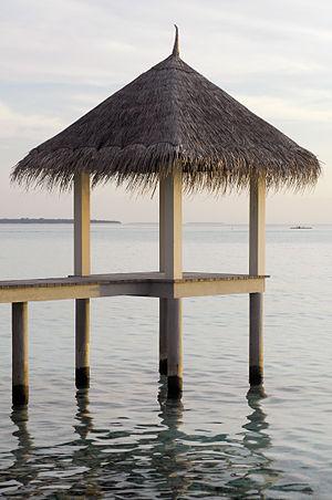 Landaa Giraavaru - Resting place.