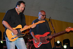 The Smithereens - Babjak (left) and Jornacion in 2009 in Rochester, Minnesota