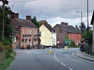 Collingbourne Kingston Human settlement in England