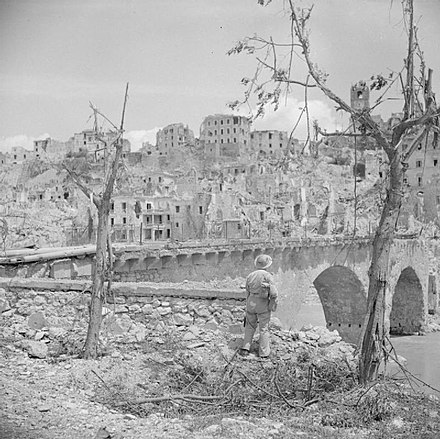 The ruined town of Pontecorvo, 26 May 1944 The British Army in Italy 1944 NA15496.jpg
