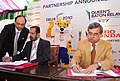 The Chairman of Organising Committee, Commonwealth Games 2010 Delhi, Shri Suresh Kalmadi and MD & CEO, Hero Honda.jpg