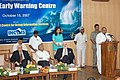 The Chief Minister of Andhra Pradesh, Dr. Y.S. Rajasekhara Reddy addressing at the inauguration of the Tsunami Early Warning Centre at Hyderabad on October 15, 2007.jpg