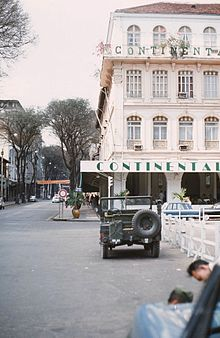 View Of The Continental And Tu Do Street In 1968