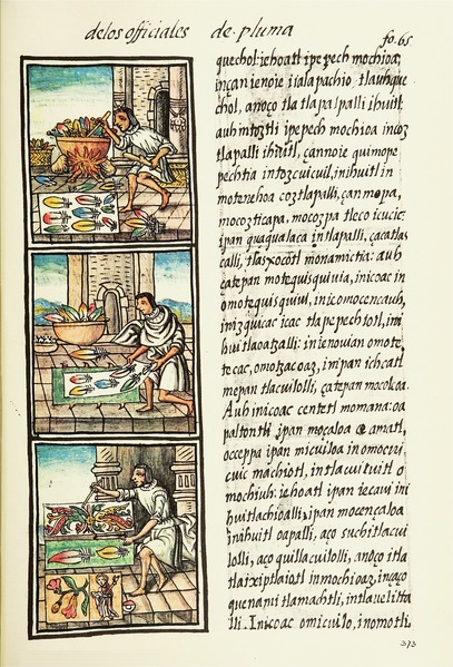 File:The Florentine Codex- Aztec Feather Painters II.tiff