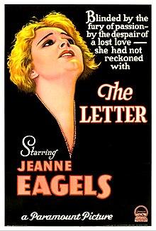 The Letter (1929 film)   Wikipedia