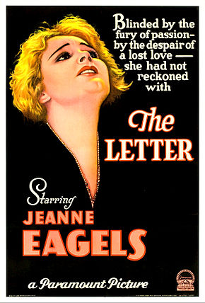 Description de l'image The Letter poster 1929.jpg.