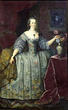 La Marchesa di Pombal, un esempio di una nobile per matrimonio.
