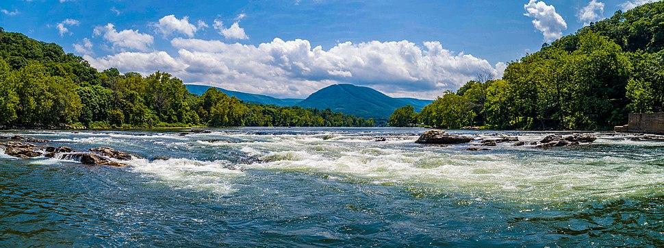 The New River in Giles County, VA