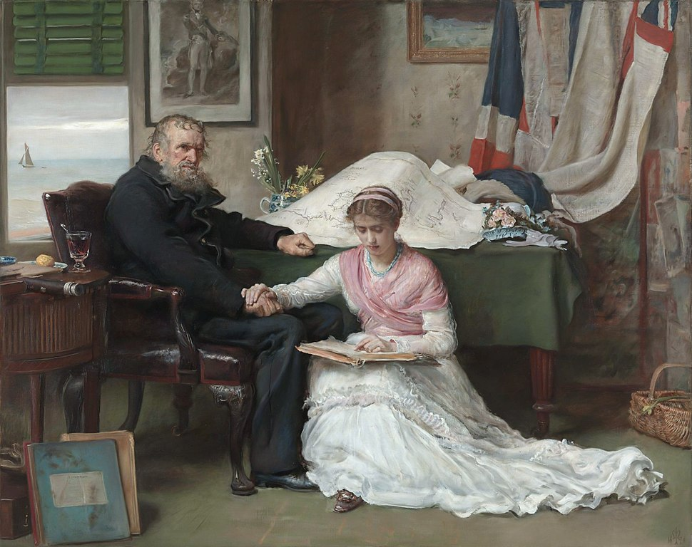 The North-West Passage, by John Everett Millais
