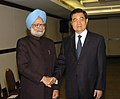 The Prime Minister, Dr. Manmohan Singh meeting the President of China, Mr. Hu Jintao, on the sidelines of BRIC and IBSA Summits, in Brasilia, Brazil on April 15, 2010.jpg