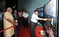The Prime Minister, Shri Narendra Modi being briefed by the senior scientists, during his visit GSLV Mk III Vehicle Assembly Building, at Sriharikota, in Andhra Pradesh on June 29, 2014.jpg