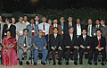 The Prime Minister of Japan, Mr. Shinzo Abe and the Union Minister for Human Resource Development, Shri Arjun Singh with the Vice ChancellorsPresidents of Indian and Japanese Universities, in New Delhi on August 21, 2007.jpg
