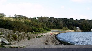 Great Island - Image: The Seafront at Cuskinny geograph.org.uk 596599