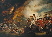 The Defeat of the Floating Batteries at Gibraltar, 13 September 1782, by John Singleton Copley.