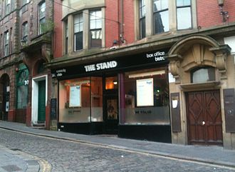 The Stand Comedy Club - Exterior of The Stand, Newcastle
