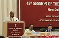 The Union Minister for Labour and Employment, Shri Mallikarjun Kharge addressing the 45th session of the Indian Labour Conference, in New Delhi on May 17, 2013.jpg