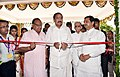 The Vice President, Shri M. Venkaiah Naidu inaugurating the Dr. Girendra Pal Homeopathy College and Research Centre at Homeopathy University, in Jaipur, Rajasthan.JPG