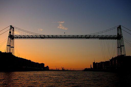 The Vizcaya Bridge (Puente Colgante), Areeta - panoramio