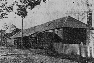 Regatta Hotel - First Regatta Hotel, circa 1880