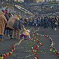 The way of the Euromaidan Heavenly Hundred. Institutska st. Kiev. 24.02.2014.JPG