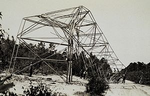 1933 Outer Banks hurricane - Image: Theb 2559