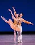 Kansas City Ballet dancers in Theme and Variations