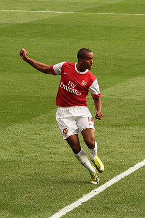 English: English foorball player Theo Walcott ...
