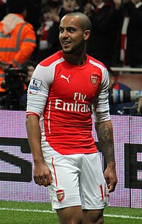 Theo Walcott English footballer