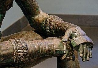 Boxer at Rest hands detail