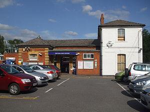 Theydon Bois tube station - Station entrance