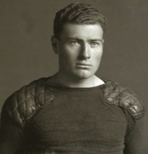 Thomas A. Bogle Jr. - Bogle from 1911 Michigan football team portrait