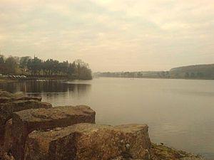 Thornton Reservoir - The reservoir from the dam